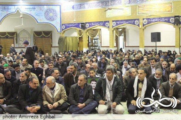 سومین یادواره شهدای عملیات کربلای4 استان گلستان/تصویری