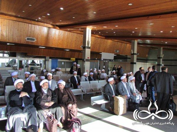 بازدید ائمه جمعه و جماعات استان گلستان از بندر عسلویه / تصاویر