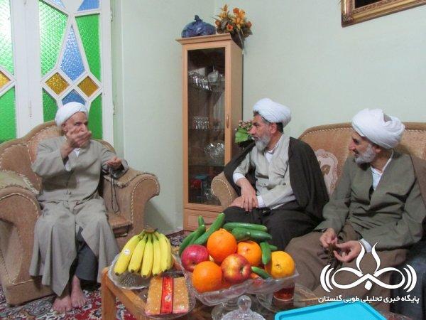 خانواده شهید حمید رضا اسلامی میزبان مسئولین استانی بود+تصاویر