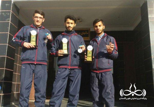 3 مدال رنگارنگ سهمیه طلاب بسیجی گلستانی در تهران