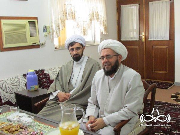 دیدار مسئول نمایندگی ولی فقیه سپاه نینوا از ائمه جمعه خواجه نفس و ایمر محمد