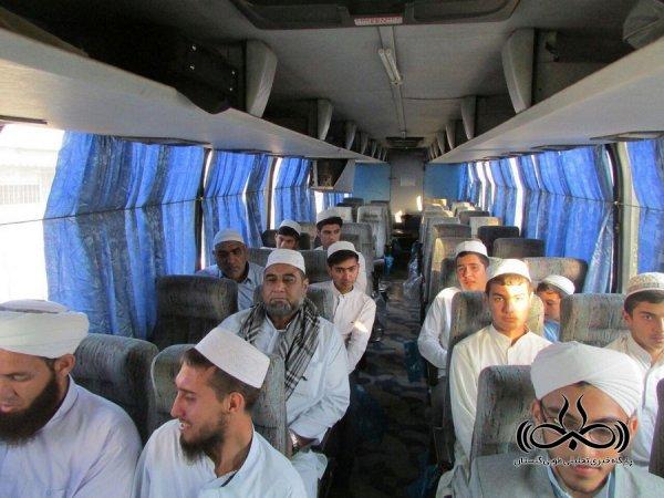 اعزام 80 نفر از طلاب و علمای اهل سنت استان به مشهد مقدس