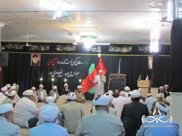 ده ها تن از علمای اهل سنت و تشیع گلستانی به زیارت آرامگاه بایزید بسطام اعزام شده اند+ تصاویر