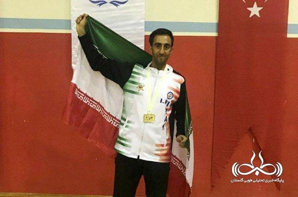 کسب عنوان قهرمانی جهان در رشته