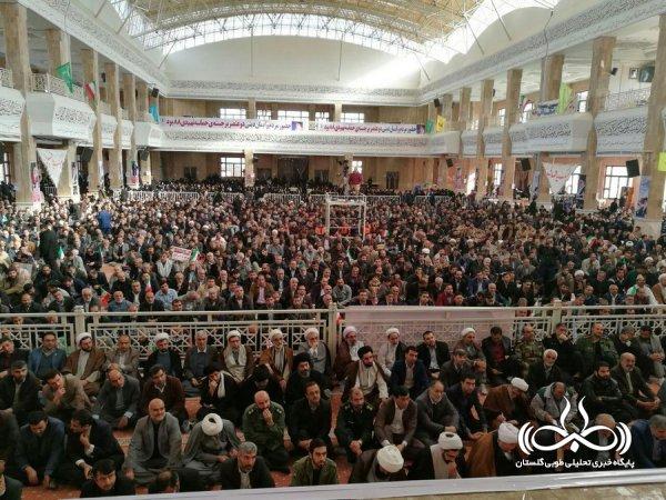 تصاویر/ تجمع سراسری یوم الله ۹ دی در جای جای استان گلستان