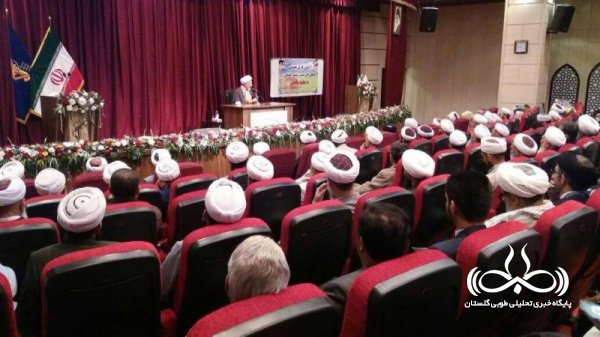 حضور علمای شیعه و سنی استان گلستان در مشهد مقدس + تصاویر