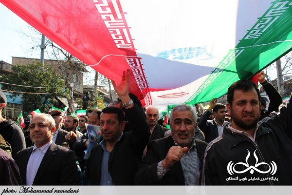 22 بهمن گلستان تماشایی شد / مردم استان بار دیگر پیمان مجدد با رهبری و انقلاب خود بسته اند + تصاویر