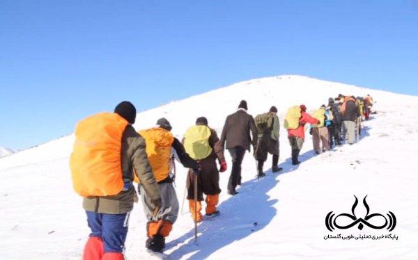 هشدار هیئت کوهنوردی شهرستان گرگان به گروه های کوهنوردی غیرمجاز