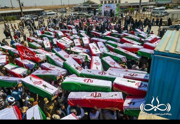 جزئیات تشییع ۱۵۰ شهید دوران دفاع مقدس در تهران و ۱۰ استان دیگر کشور