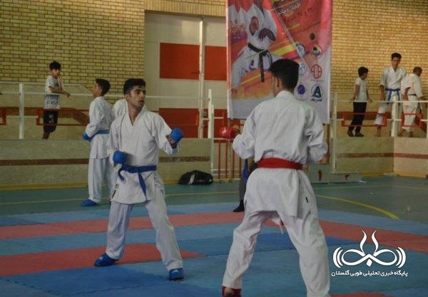 مسابقات کاراته قهرمانی کشور و انتخابی تیم ملی در گنبدکاووس آغاز شد